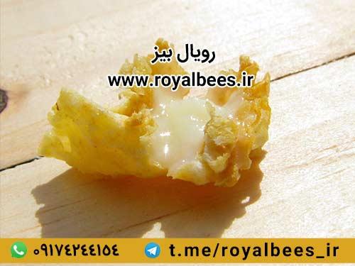 ترکیبات طلایی ژل رویال خالص زنبور عسل