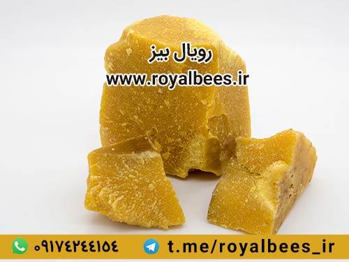 اثر حرارت دادن به موم عسل