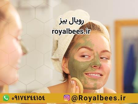 ماسک ژل رویال اصل برای زیبایی و جوانسازی پوست صورت