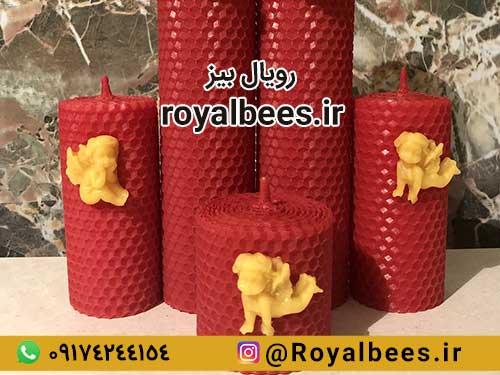 قیمت و خرید شمع موم عسل رنگی
