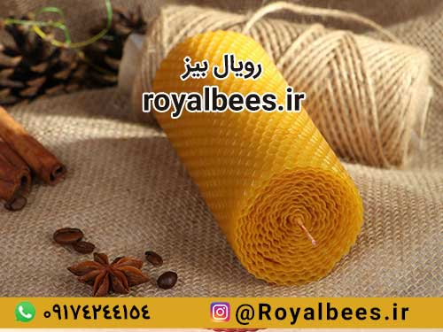 شمع عسل طبیعی