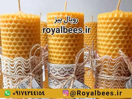 چه نوع موم زنبور عسلی برای شمع سازی باید استفاده کنم؟