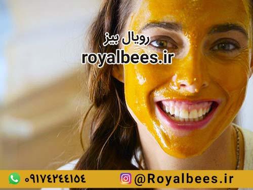 ماسک موم زنبور عسل برای پوست های معمولی