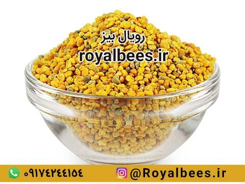 طریقه مصرف گرده زنبور
