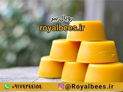 ساختار موم قالبی زنبور عسل